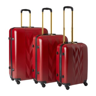 Anne Klein Lafayette 3-piece Hardside Spinner Luggage Set