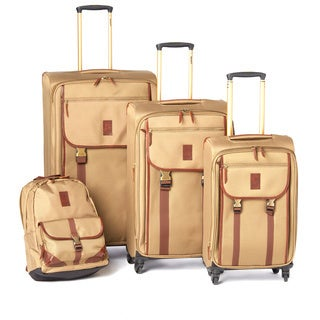 Timberland Reddington 4-piece Expandable Spinner Luggage Set