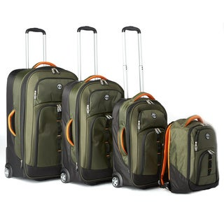 Timberland East Quarry 4-piece Rolling Luggage Set