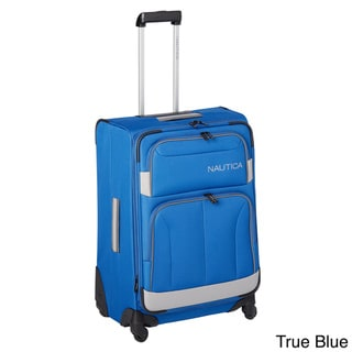 Nautica Shipline 24-inch Expandable Spinner Suitcase