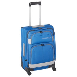 Nautica Shipline Expandable Spinner 20-inch Carry-on Suitcase