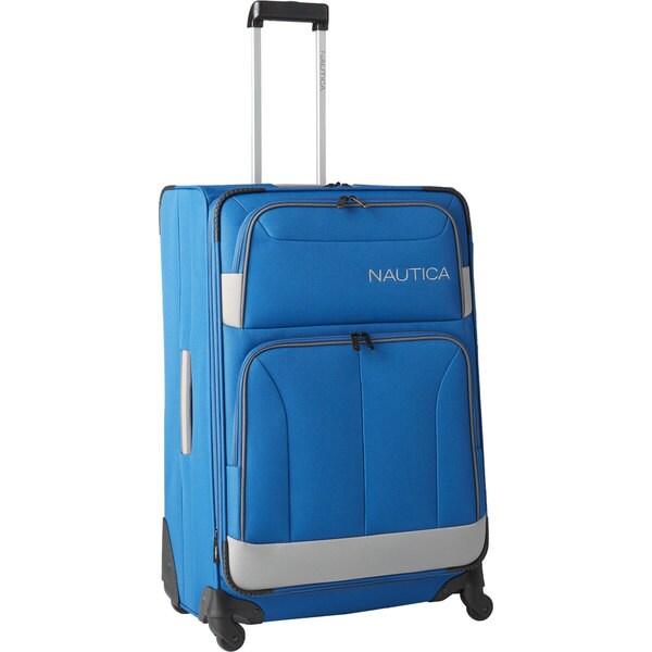 52fa3b1c3 Shop Nautica Shipline 29-inch Expandable Spinner Suitcase - Free ...
