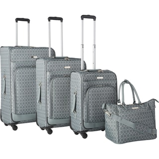 Nine West Allea 4-piece Expandable Spinner Luggage Set