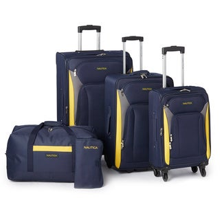 Nautica Open Seas 5-piece Expandable Spinner Luggage Set