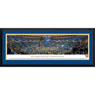 Blakeway Panoramas West Virginia Basketball Framed Print