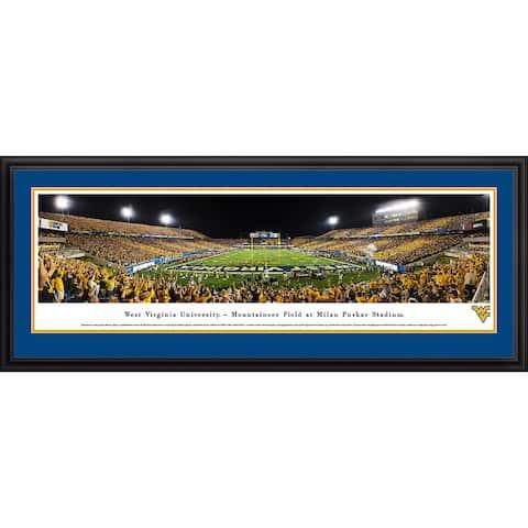 Blakeway Panoramas West Virginia Football Framed Print