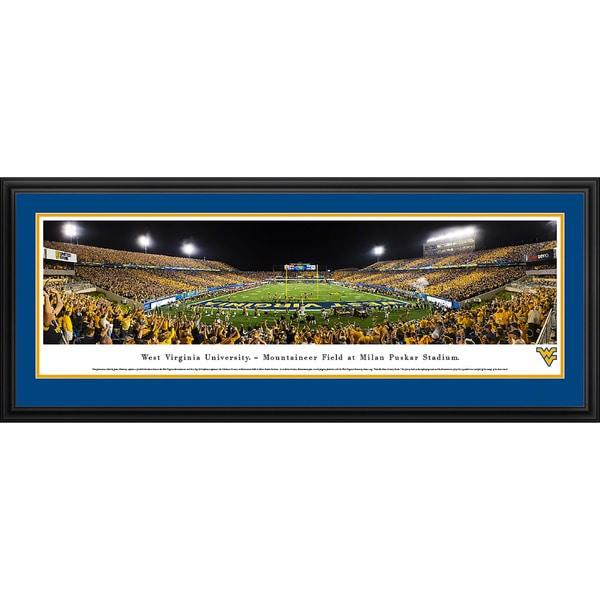 Blakeway Panoramas West Virginia Football Framed Print. Opens flyout.