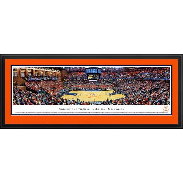 Blakeway Panoramas 'Virginia Basketball' Framed Print