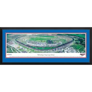 Blakeway Panoramas Talladega Superspeedway Aluminum/Wood Framed Print