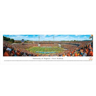 Blakeway Panoramas Virginia Football '50 Yard Line' Framed Print