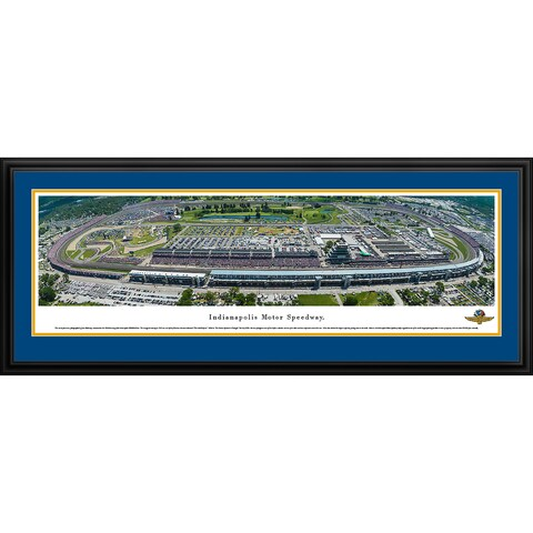 Blakeway Panoramas 'Indy 500 100th 500-mile Race' Framed Print