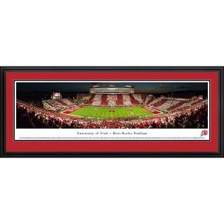 Blakeway Panoramas 'Utah Football 50-Yard Line' Framed Print