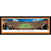 Blakeway Panoramas Tennessee Football 'Power T' Framed Print