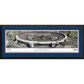 Blakeway Worldwide Panoramas Bristol Motor Speedway Food City 500 Framed Print