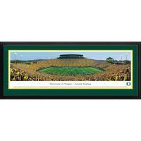 Blakeway Panoramas Oregon Football '50 Yard Day' Framed Print