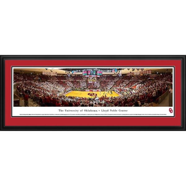 Blakeway Panoramas 'Oklahoma Basketball' Framed Print