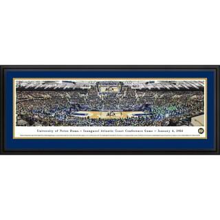 Blakeway Panoramas Notre Dame Basketball 'Inaugural ACC' Framed Print