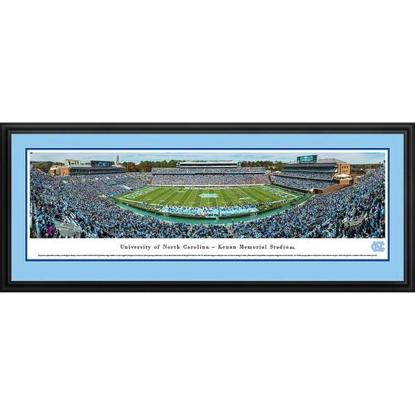 Blakeway Panoramas North Carolina Football Framed Print