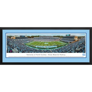 Blakeway Panoramas North Carolina Football Framed Print
