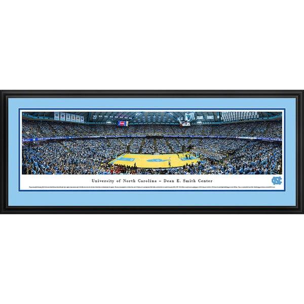 Blakeway Panoramas 'North Carolina Basketball' Framed Print