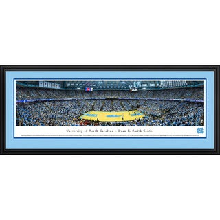 Blakeway Panoramas 'North Carolina Basketball' Framed Print