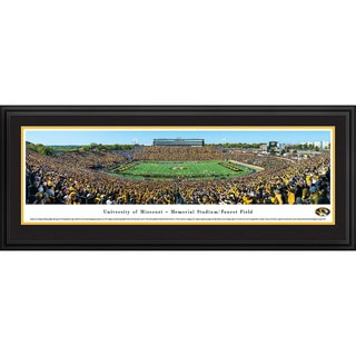 Blakeway Panoramas Missouri Football '50 Yard Line Day' Framed Print