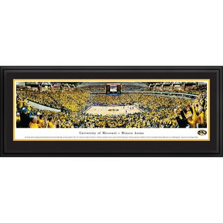 Missouri Basketball 'Blakeway Panoramas' Framed Print