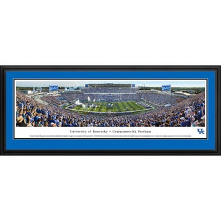 Blakeway Panoramas Kentucky Football Aluminum/Wood Framed Print