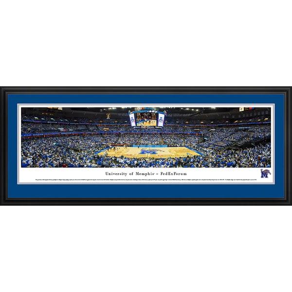 Blakeway Panoramas Memphis Basketball FedEx Forum Framed Print