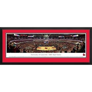 Blakeway Panoramas Louisville Basketball Framed Print