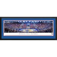 Blakeway Panoramas Kansas City Jayhawks 'Battle Of The Blue' Framed Art