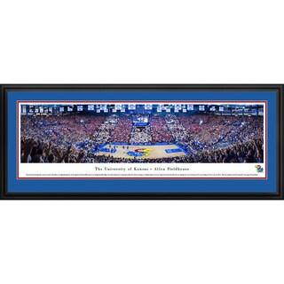Blakeway Panoramas Kansas City Jayhawks 'Battle Of The Blue' Framed Art (3 options available)
