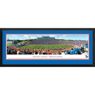 Blakeway Panoramas Kansas Football Framed Print