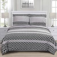 Superior Sutton Reversible Cotton Duvet Cover Set