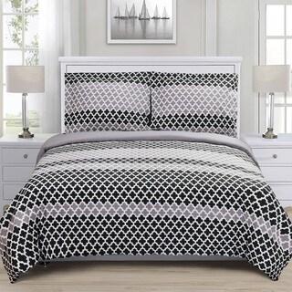 Superior Sutton Reversible Cotton Duvet Cover Set