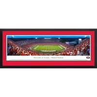 Blakeway Panorama 'Georgia Football 50 Yard Line' Framed Print