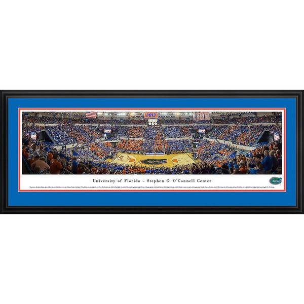 Blakeway Panoramas Florida Basketball Framed Print