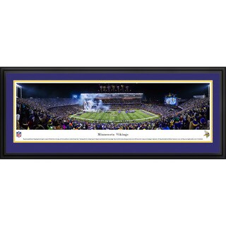 Blakeway Panoramas Minnesota Vikings 'TCF Bank Stadium' Framed NFL Print
