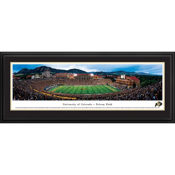 Blakeway Panoramas 'Colorado Football' Framed Print