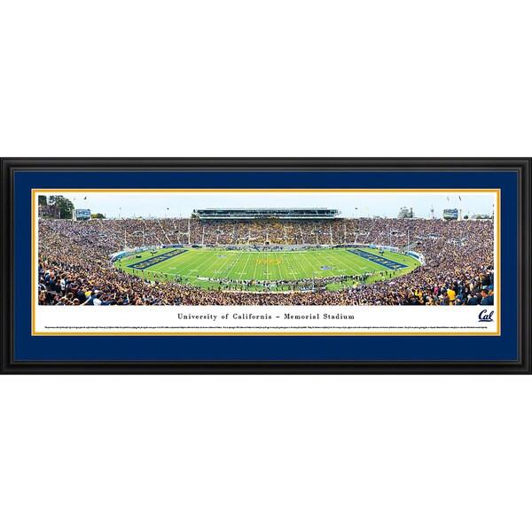 Blakeway Panoramas California Berkeley Football Staduim Multicolored Framed Print