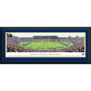 Blakeway Panoramas California Berkeley Football Staduim Multicolored Framed Print