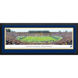 Blakeway Panoramas California Berkeley Football Staduim Framed Print (3 options available)