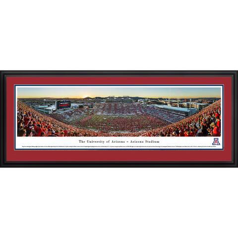 Blakeway Panoramas Arizona Football Framed Print