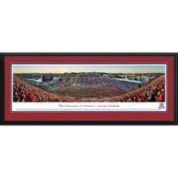 Blakeway Panoramas 'Stripe' Arizona Football Framed Print
