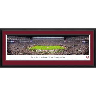 Blakeway Panoramas 'Alabama Football 50 Yard Line' Framed Print