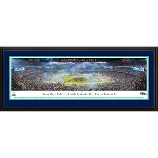 Blakeway Panoramas 'Super Bowl 2014 Seattle Seahawks Champions' Framed NFL Print