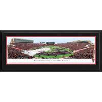 Blakeway Panoramas Texas Tech Football Stadium Multicolored Framed Print