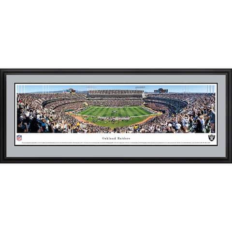 Blakeway Panoramas Oakland Raiders Framed NFL Print