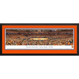 Blakeway Panoramas Syracuse Basketball Framed Print