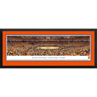 Blakeway Panoramas Syracuse Basketball Framed Print